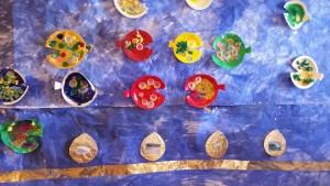 En interaktiv vattenvägg på förskolan Borgen
