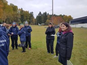 Reflektion kring de två olika övningarna utifrån Väsby kommunala förskolors lotusdiagram