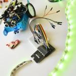 robot med diod