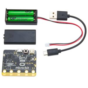 microbitmedbatterihållare